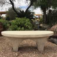 River Stone Bench