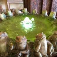Frog Bubbler Fountain