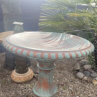 Button Bowl Birdbath