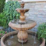 San Diegan Fountain, With 46″ Basin