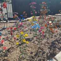 Small Metal Flowers