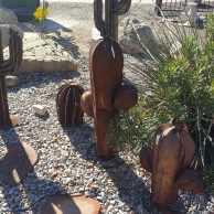 Rusted Saguaro Cactus
