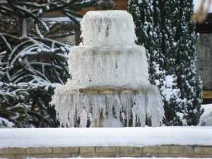 Cold Weather Fountain