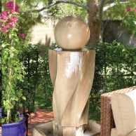 Vortex Fountain with Ball
