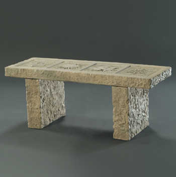 Four Seasons Granite Bench