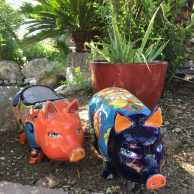 Talavera Pig Planter