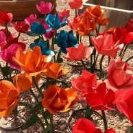 Metal Bouquets