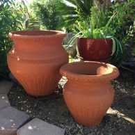 Red Clay Trompo Planter