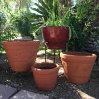 Red Clay Vaso Planter
