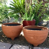 Red Clay Mocajete Planter