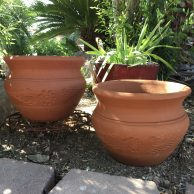 Red Clay Masetone Planter