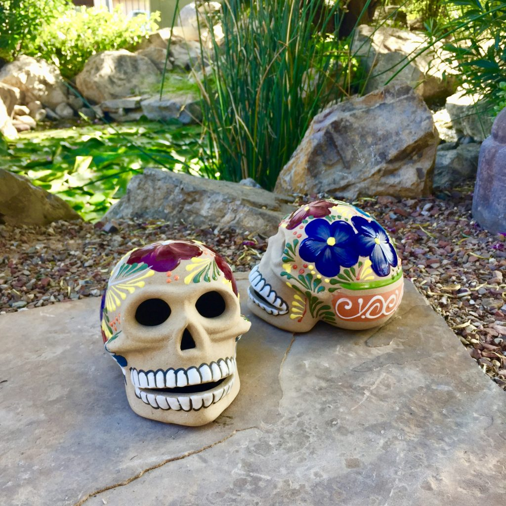 Talavera Día de Los Muertos Skulls