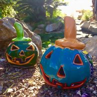 Talavera Pumpkins