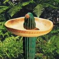 Desert Sombrero Birdbath