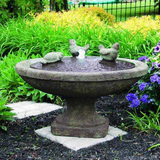 Singing Birds Oval Fountain