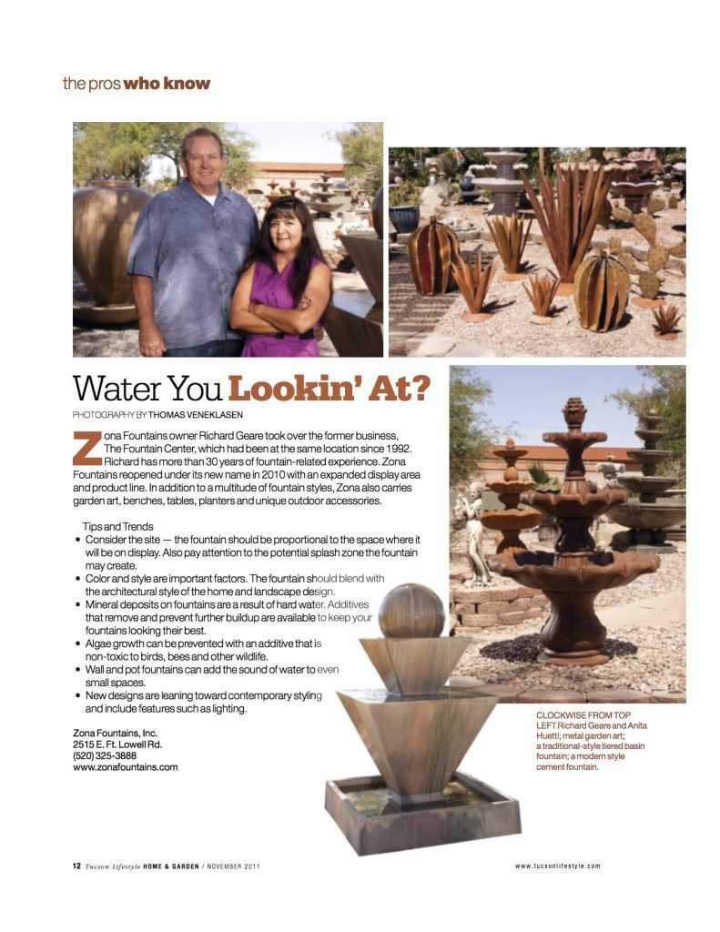 Zona Home and Garden Magazine