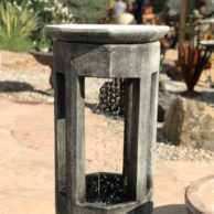 Octagon Rain Fountain