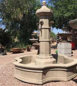 Roubaix Pond Fountain