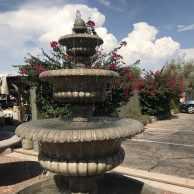 "Elegant 3 Tier Fountain w / 74"" Basin"