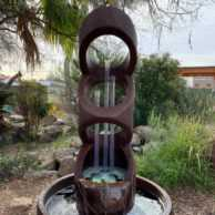 Balancing Rings Fountain