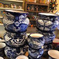Blue & White Talavera Planters