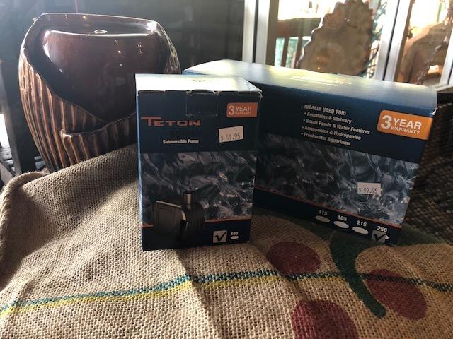 Teton Splash Pumps