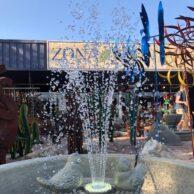 Fleur De Lis Bird Fountain